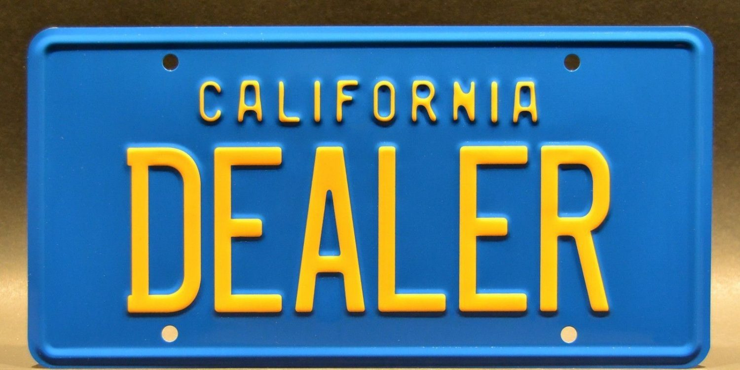 California Licensed Used Car Dealer